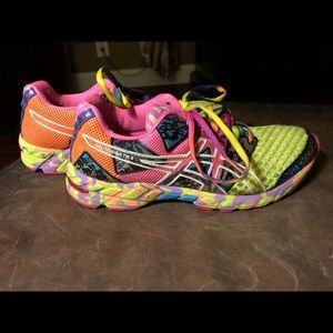 Asics Gel-Noosa Tri 8 Shoes Sneakers 8.5 Multi